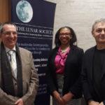 Professor Lockwood, Deirdre LaBassiere and Professor Svensmark